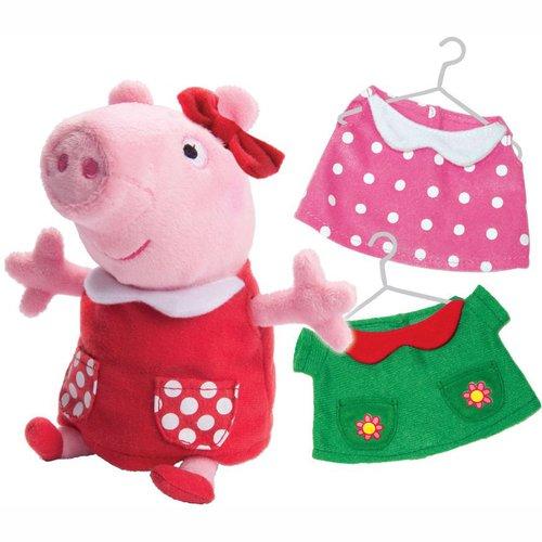 Купить Мягкая игрушка с озвучкой Пеппа модница , 20 см, Peppa Pig, Мягкие игрушки