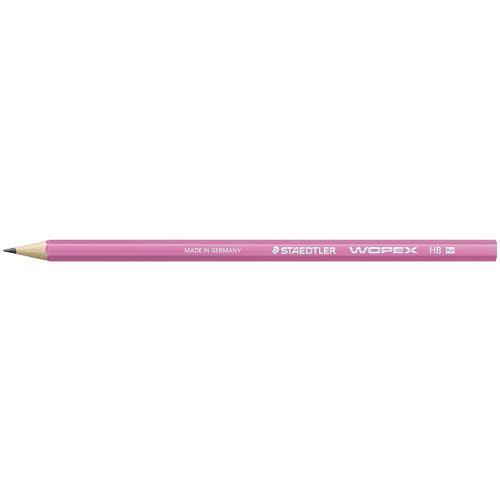 Карандаш чернографитовый Wopex, HB, розовый неон карандаш hb 2