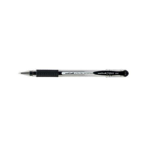 Гелевая ручка UM-151, 0,38 мм, черная ручка гелевая черная