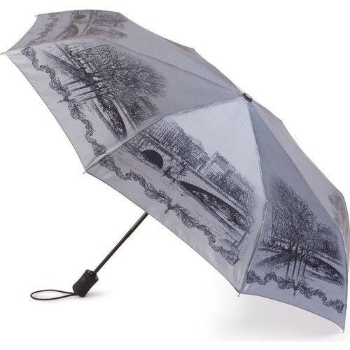Зонт женский автомат Old Bridge U21201 тарелки с большим куполом 31cm