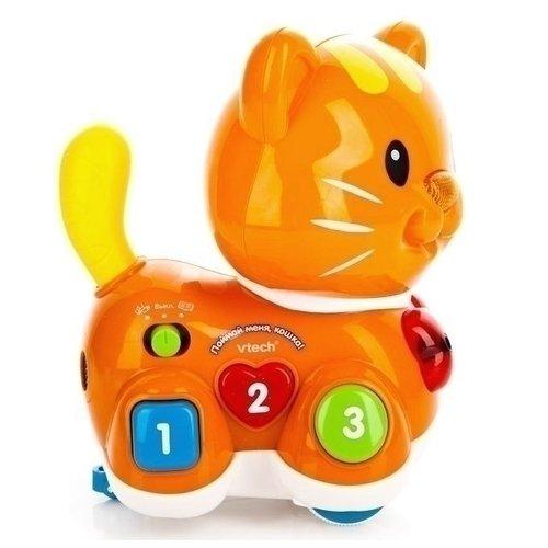 Игрушка интерактивная Поймай меня, Кошка цветочная игрушка схвати меня