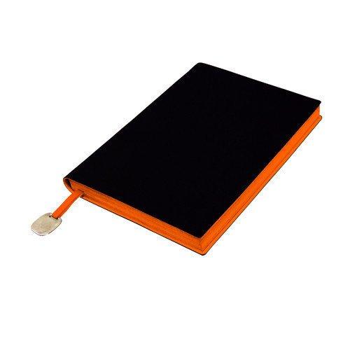 Ежедневник недатированный In Black оранжевый А6+ ежедневник недатированный in black а6 голубой