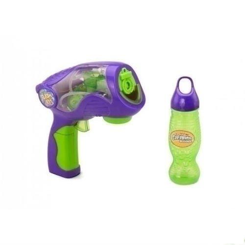 Пистолет для мыльных пузырей Вспышка + раствор пистолет для мыльных пузырей funrise gazillion