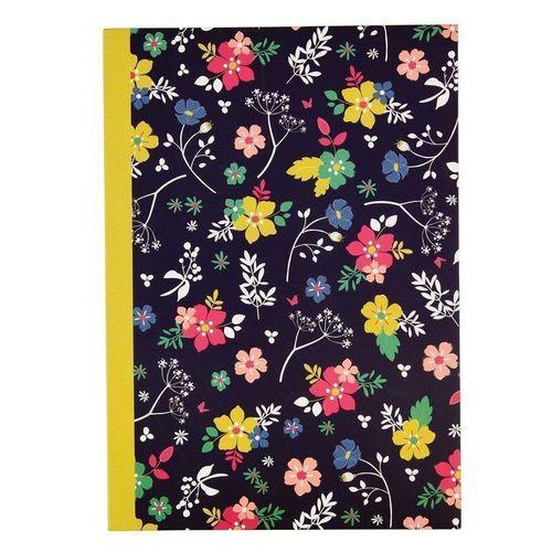 "Блокнот ""Ditsy Garden"" А5, 60 страниц, в линейку, 14,5 х 21 см"