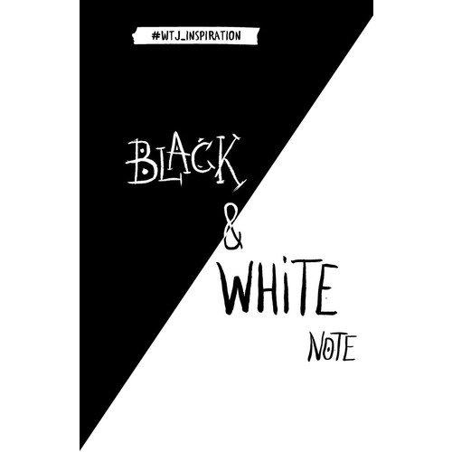 """Блокнот """"Black&White Note"""" А5"""