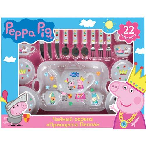 Купить Чайный сервиз Принцесса Пеппа , Peppa Pig, Игровые наборы