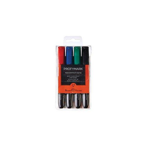цена на Набор перманентных маркеров Profymark, 4 цвета