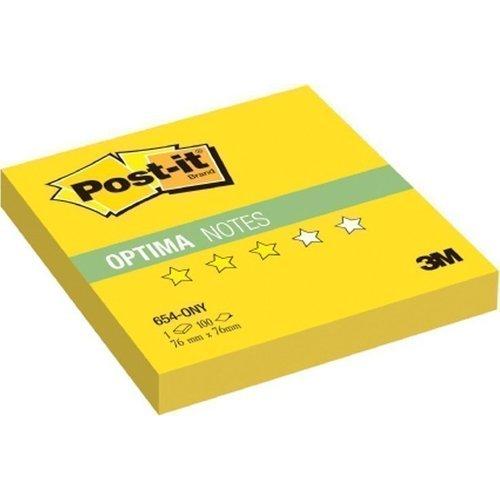 """Блок-кубик """"Optima"""" 654-ONY неон желтый цены"""
