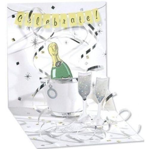 """Открытка """"Шампанское"""""""