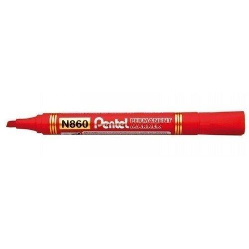 Маркер перманентный, красный маркер для текстиля edding ярко красный наконечник круглой формы толщина линии 3мм e 4500