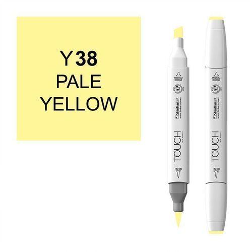 Маркер Brush 038, бледный желтый маркер brush 146 мрачный лиловый