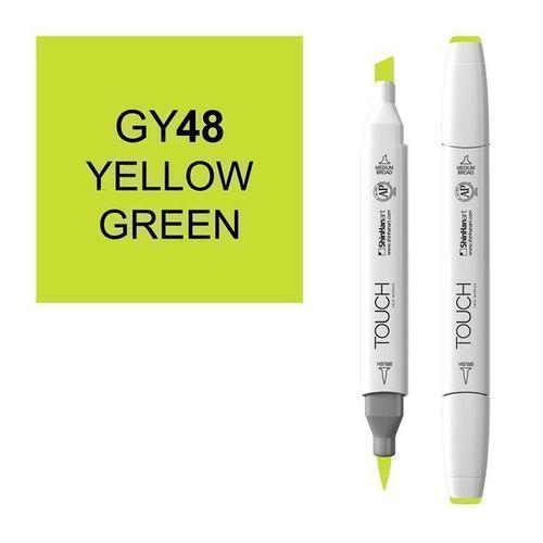 Маркер Brush 048, зелено-желтый маркер brush 146 мрачный лиловый