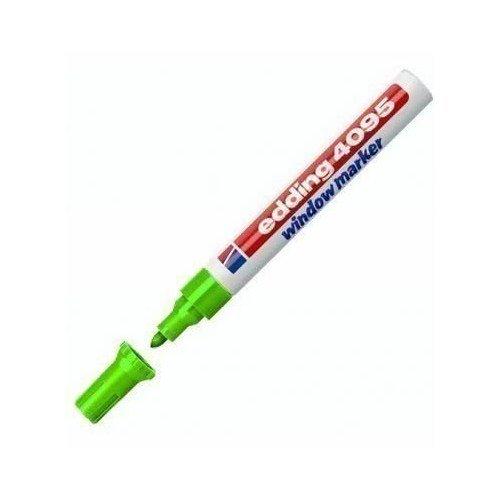 Меловой маркер для окон, 2-3 мм, зеленый