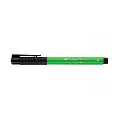 "лучшая цена Капиллярная ручка ""Pitt Artist Pen Brush"", светло-зеленая"