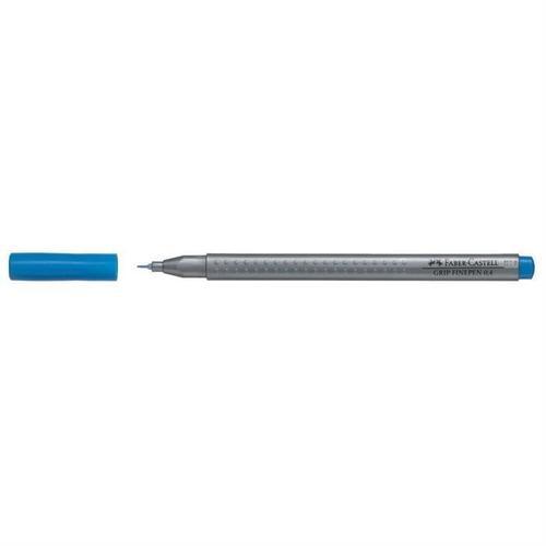 Капиллярная ручка Grip, 0,4 мм, кобальт бирюзовая капиллярная ручка grip 0 4мм набор цветов в тубе 10 шт