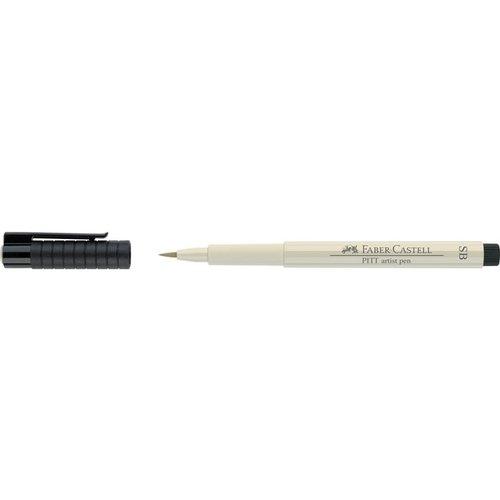 Капиллярная ручка Pitt Artist Pen Soft Brush, теплая серая, I quality calligraphy brush lake pen bamboo calligraphy brush