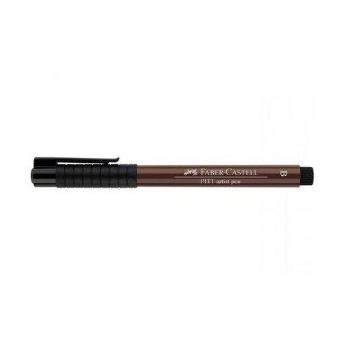 """Капиллярная ручка """"Pitt Artist Pen Brush"""", красно-коричневая"""