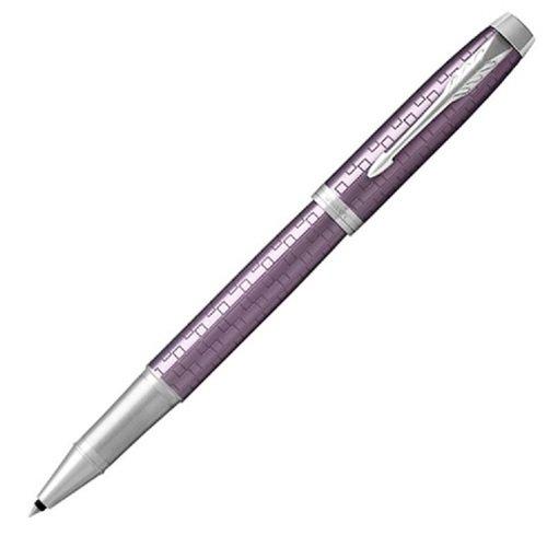 "Ручка-роллер ""IM Premium Dark Violet CT"" фиолетовая F ручка роллер parker im premium t324 1931678 ct f 453578 коричневый"