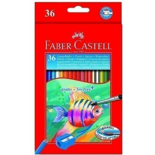 Акварельные карандаши Colour Pencils, 36 цветов акварельные карандаши colour pencils с кисточкой набор цветов в картонной коробке 12 шт