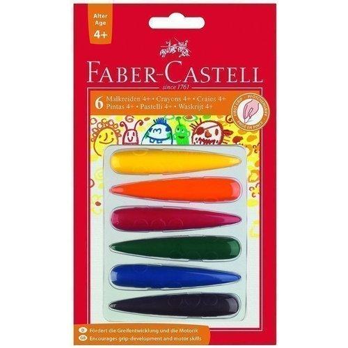 Мелки для дошкольного возраста, 6 цветов universal миньоны цветные мелки 6 цветов