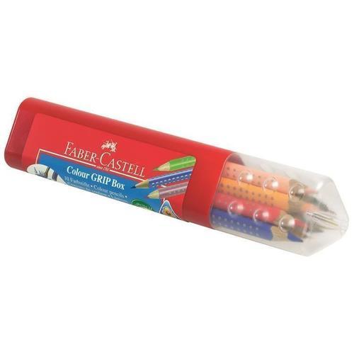 Карандаши цветные Grip 2001, 10 цветов капиллярная ручка grip 0 4мм набор цветов в тубе 10 шт
