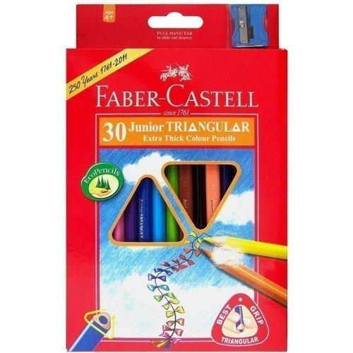 Карандаши цветные Junior Grip, 30 цветов цветные карандаши grip 2001 набор цветов в студийной кожзам коробке 36 шт
