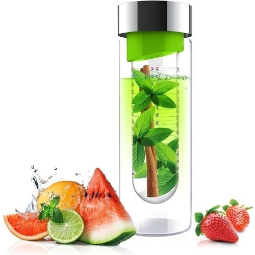 Бутылка Flavour it, 480 мл, зеленая