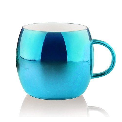 Фото - Кружка Sparkling mugs, 380 мл, голубая кружка kitchen goods терракот голубая
