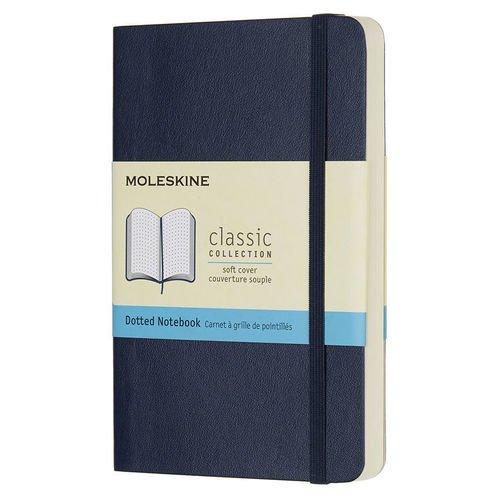 """Блокнот """"Classic Soft"""" А6, 192 стр., синий сапфир"""