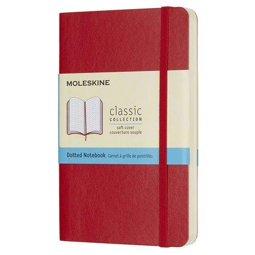 """Блокнот """"Classic Soft"""" А6, 192 стр., красный"""