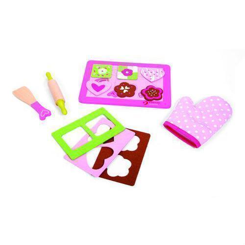 Игровой набор из дерева Испеки печенье игровой набор 1toy маленькая хозяюшка