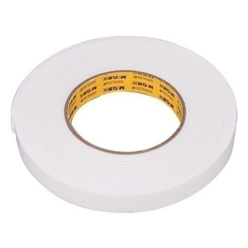 Двухсторонняя клейкая лента 18 мм белая световозвращающая лента oralite reflexite vc104 tanker stickers для жесткого борта для цистерн белая 50 м