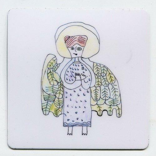 Магнит с рисунком Ангел магнит на холодильник ens ангел 6 8 см
