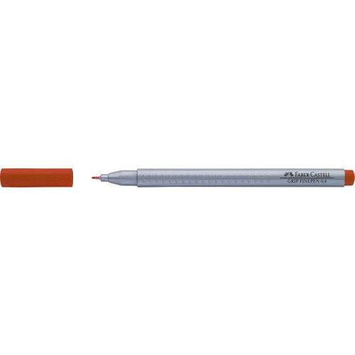 "Капиллярная ручка ""Grip"", 0,4 мм, темно-оранжевая"
