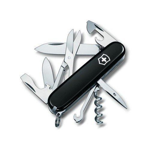 Офицерский нож Climber 1.3703.3 18 функций черный orion clitoris stimulator vibrator julie вибратор со стимуляцией клитора