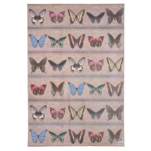 Упаковочная бумага Butterfly, 50 х 70 см упаковочная бумага 70 х 100 см зеленая