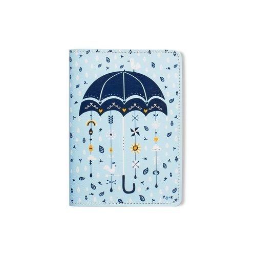 Обложка для паспорта Зонтик