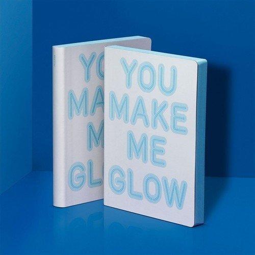 "Блокнот большой ""You Make Me Glow"""