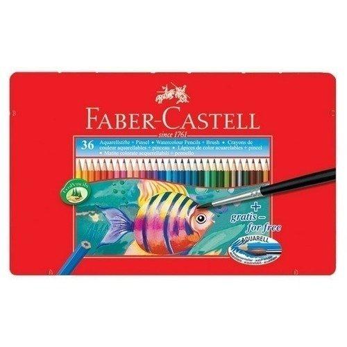 Акварельные карандаши Рыбки, 36 цветов faber castell акварельные карандаши рыбки с кисточкой 36 шт
