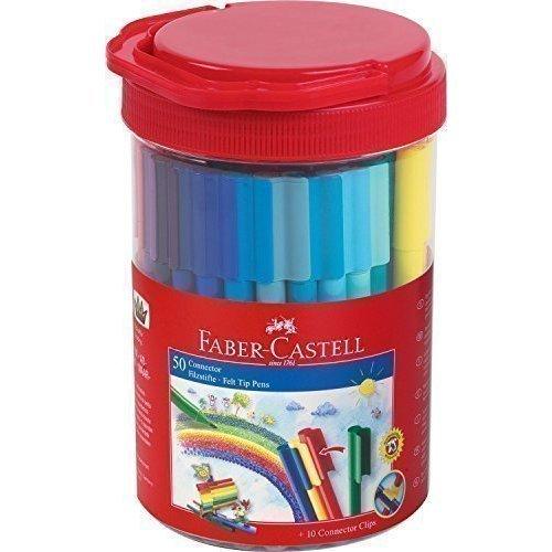 Подарочный набор фломастеров Connector, 50 цветов