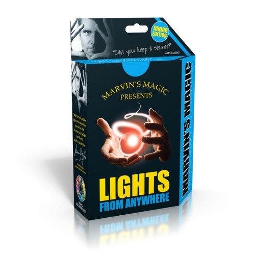 Набор фокусов Таинственный свет детский эконом свет 1076 3sn wt