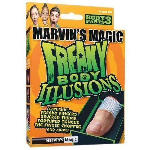 """Набор фокусов №3 """"Смешные ужасы, иллюзии с частями тела"""""""
