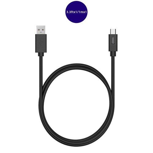 Кабель CC05 Charging, черный кабель tip top jack4501 4605170001398 черный