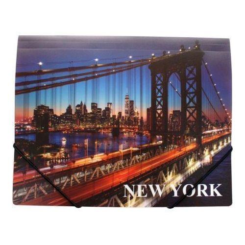 """Папка на резинке A4 """"New York"""" 0064-38"""