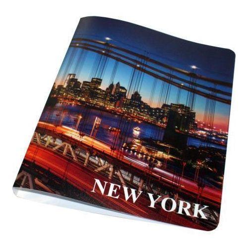 "Папка A4 2 кольца ""New York"" 0067-38 тдм sq0707 0067"