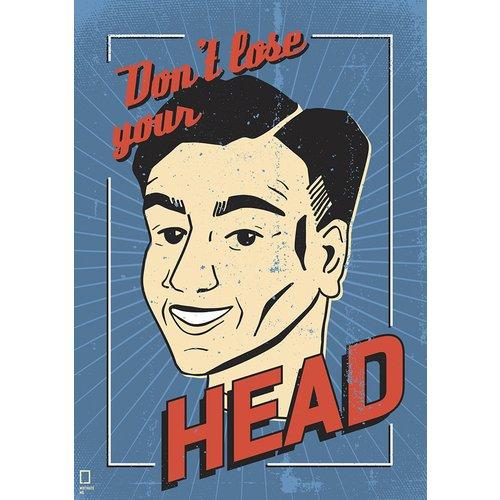 Принт Head А4 shelley wilson motivate me