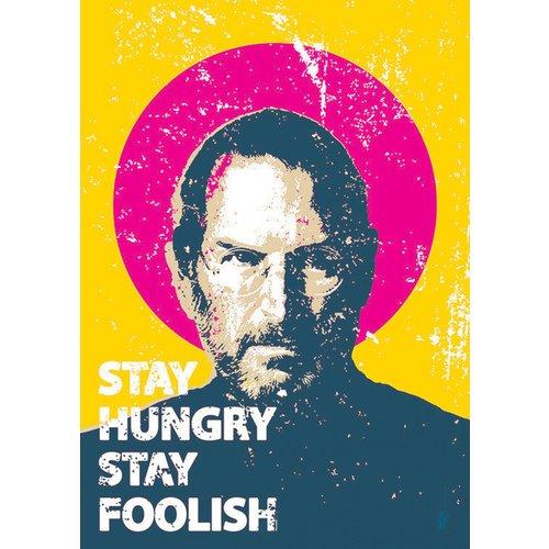 Принт Steve Jobs А4 shelley wilson motivate me