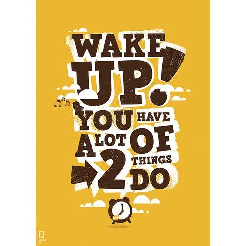 "Принт ""Wake up"" А4"