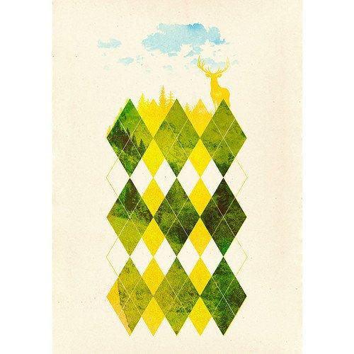 Принт Forest А4 clique v 1