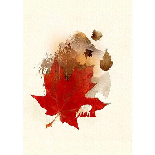 """Принт """"Autumn Leaf"""" А3"""